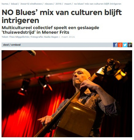 NO blues 3voor12