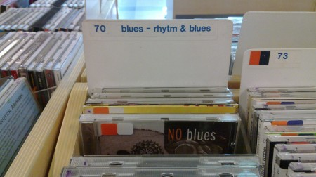 blues or NO blues